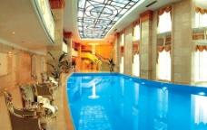 五星级酒店泳池图片