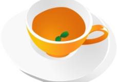 矢量咖啡杯图片