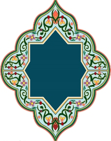 古典精美花紋花邊圖片
